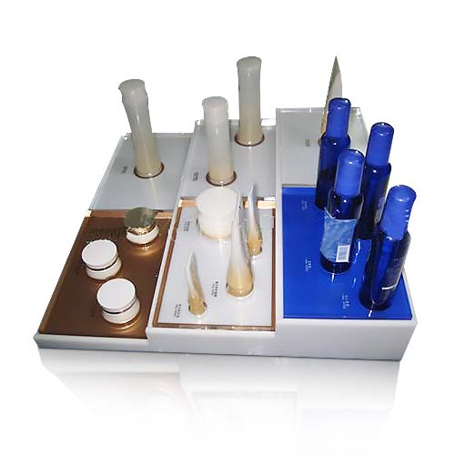 Acrylic Product Countertop Cosmetic Display Stand Wholesale