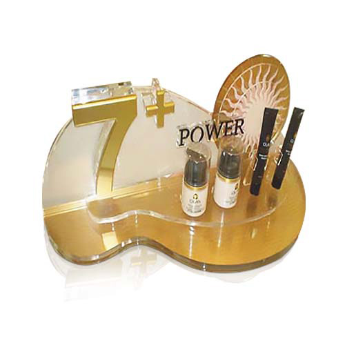 Point Of Sale Acrylic Cosmetic Display