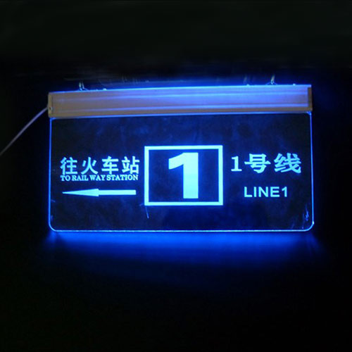 Acrylic LED Sign For Sale