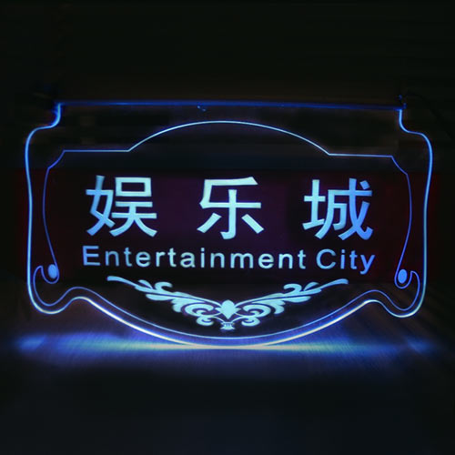 Acrylic LED Sign Products