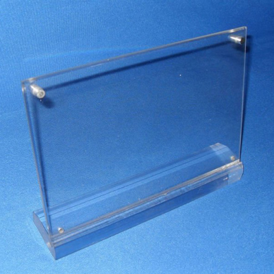 Point Of Purchase Acrylic Sign Holders