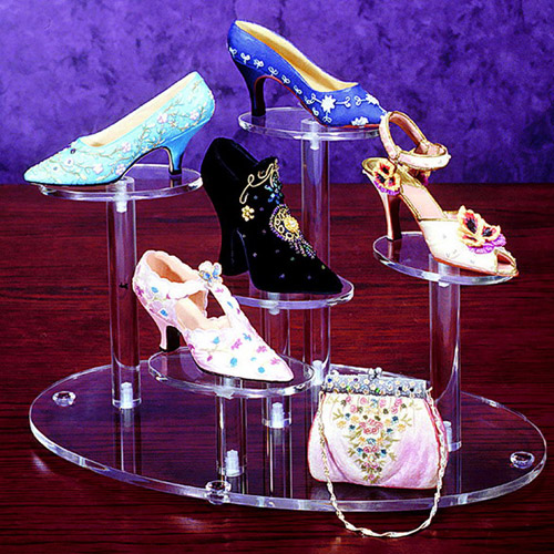 Acrylic Shoes Display Base