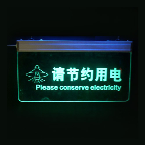 Customized Acrylic LED Sign