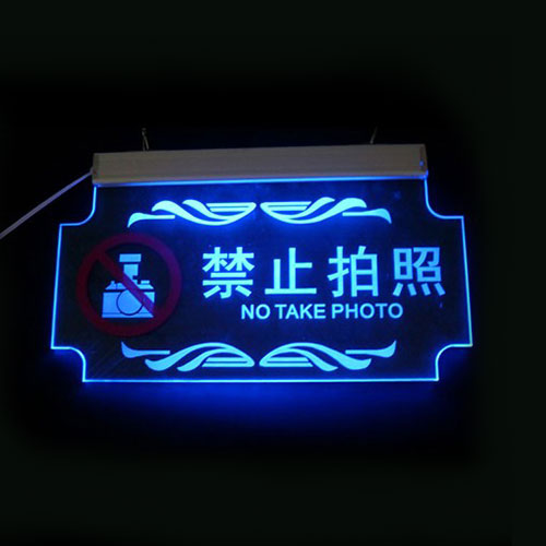 hot sale acrylic LED sign