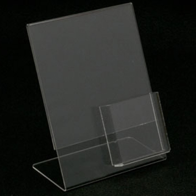 Retail Shopfitting Acrylic Sign Holders