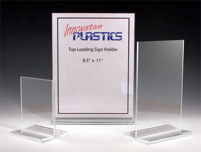 Industrial Acrylic Sign Holders