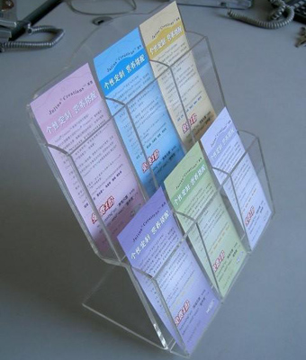 Acrylic Brochure Display Products Fabrication
