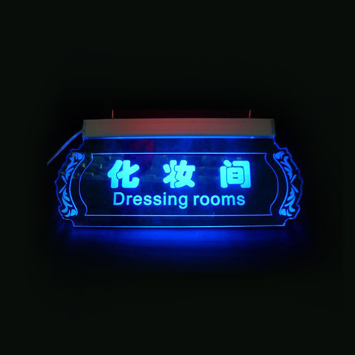 Acrylic LED Sign Design