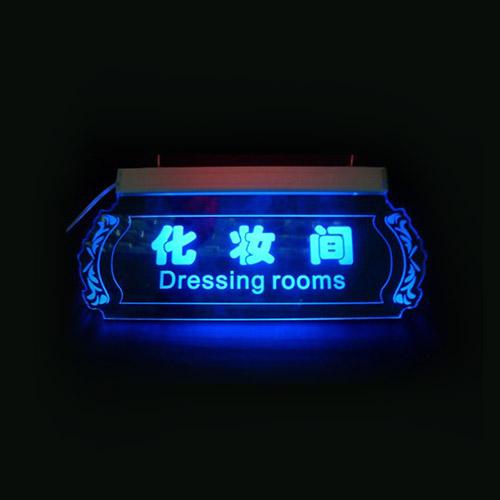 Acrylic LED Sign Design