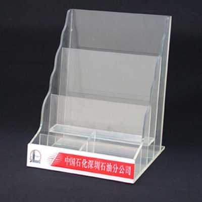 Acrylic Brochure Display For Retail