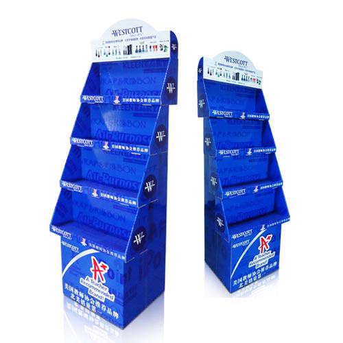 Retail Corrugated Product Stand Display