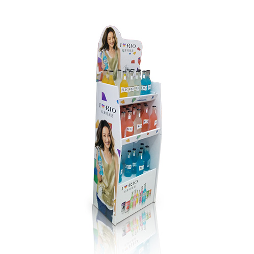 Promotional Cardboard Floor Display Stands