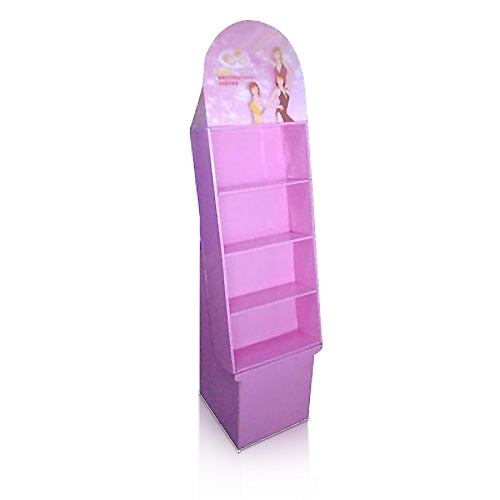 Promotional Cosmetics Corrugated Display Stand