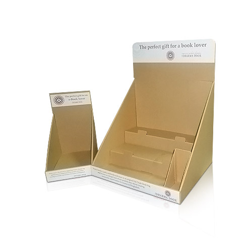 retail Cardboard Counter Top Pop Display shelf factory