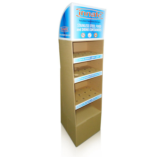 Custom Cardboard Point of Sale Display Stands China Factory