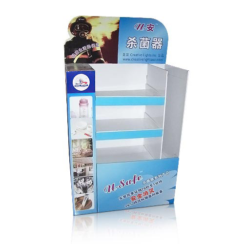 Promotional Corrugated Cardboard Floor Displays