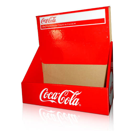 pop cardboard counter display boxes factory