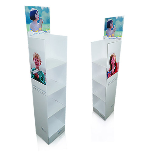Corrugated Cardboard Retail Floor Displays