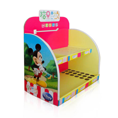 corrugated cardboard retail counter displays supplier