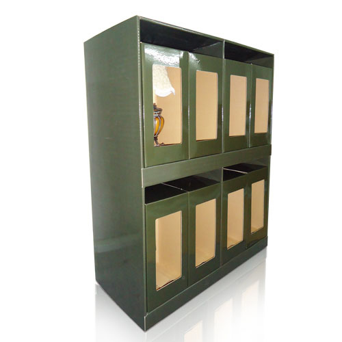 point of purchase corrugated counter display factory