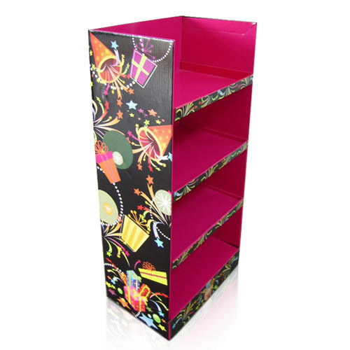 Creative Retail Cardboard Display Stands for Greeting Cards