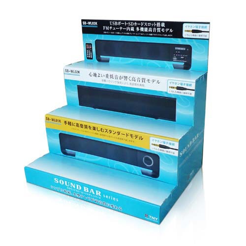 corrugated cardboard counter display stands supplier