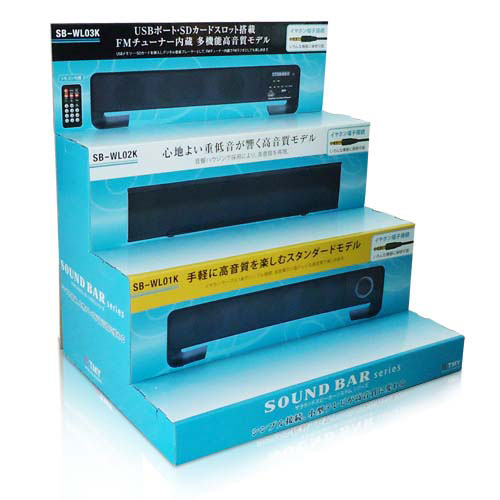 Corrugated Cardboard Counter Display Stands