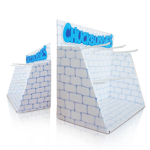 POP Cardboard Counter Display Stands