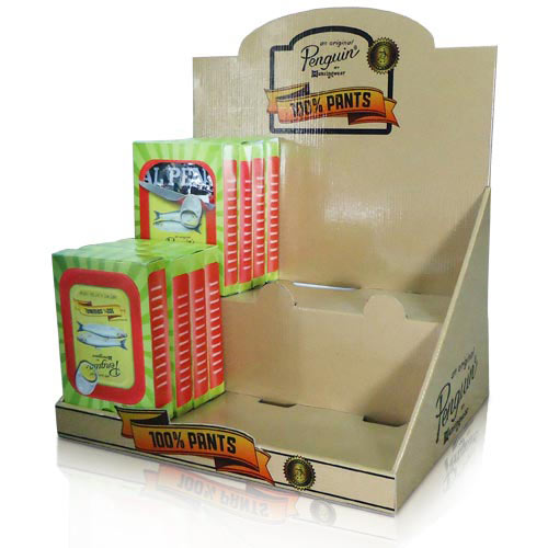 corrugated cardboard pop counter displays supplier