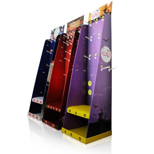 Retail Shop Cardboard Display Stand