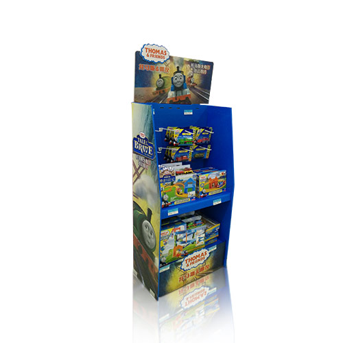 Custom POP Retail Cardboard Floor Display Stands