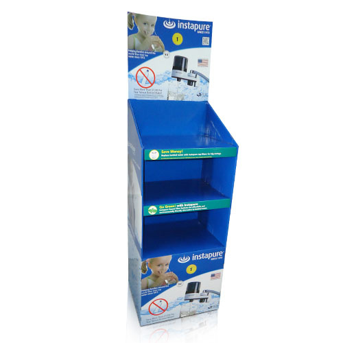 Store POS Cardboard Floor Retail Display