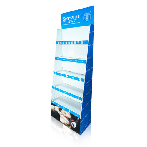 Store Paper POP Cardboard Floor Retail Display