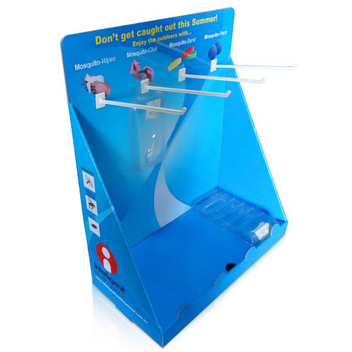 custom cardboard countertop book display stands supplier