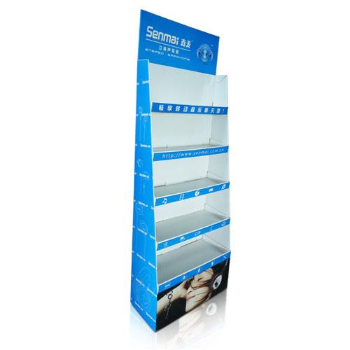 Store Paper POP Cardboard Floor Retail Display Factory