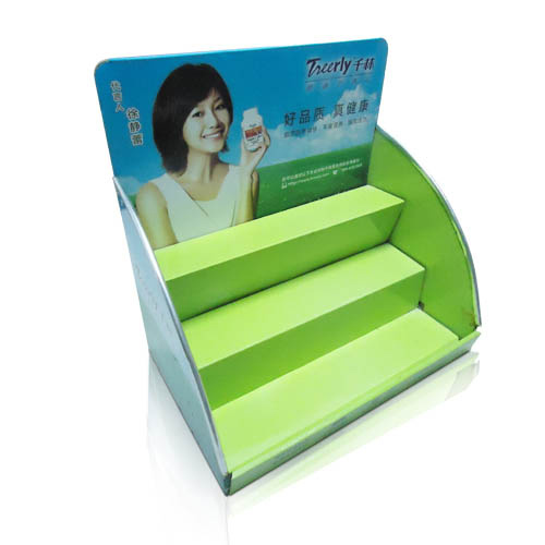 POS Table Top Print Cardboard Display Racks