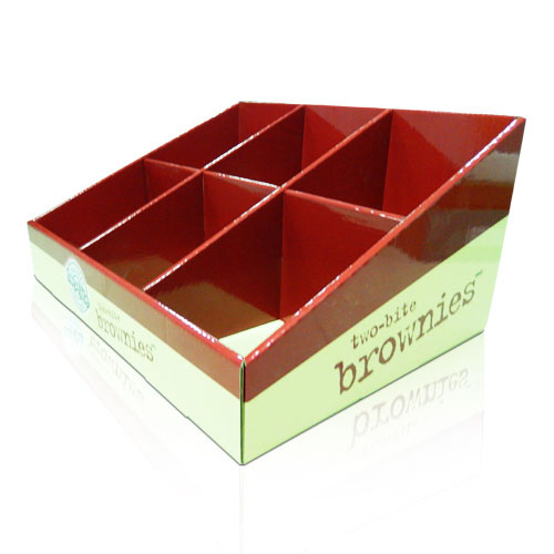 corrugated cardboard counter display units supplier