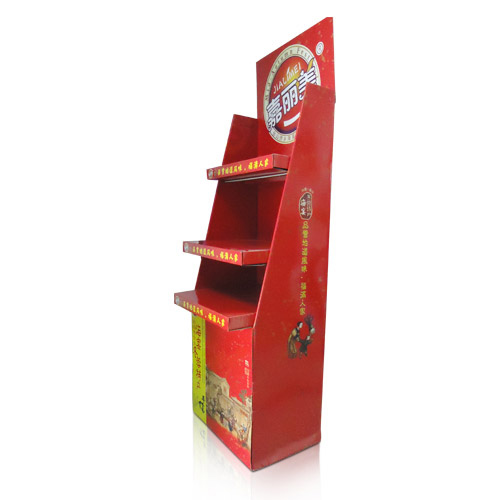 Trade Shows Cardboard Shelf Floor Displays Factory