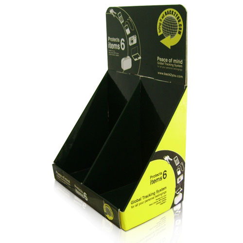 Point of Purchase Cardboard Countertop Brochure Display