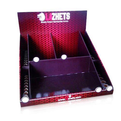 Point of Sale Cardboard Countertop Display Case Manufacturers