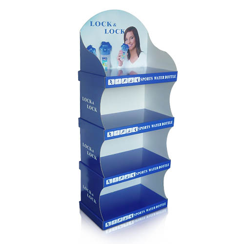 Custom Free Standing Display Stands Floor Cardboard