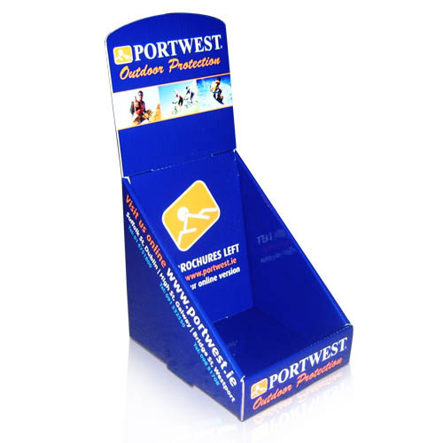 Point of Sale Table Top Easel Corrugated Display Stand