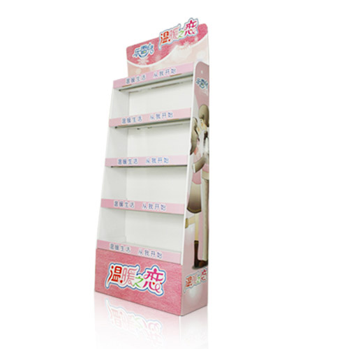 Promotional Cardboard Floor Display Stand