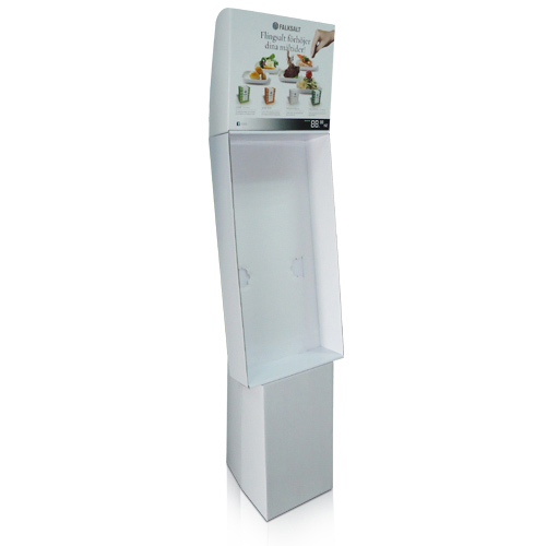 Retail Corrugated POS Display Stand