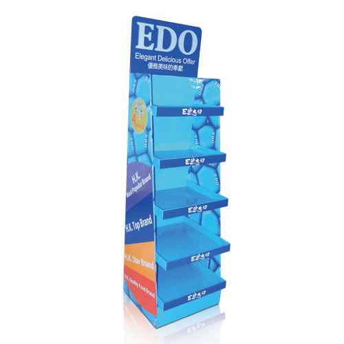Free Standing Corrugated Cardboard Floor Display Stands Manufacturers