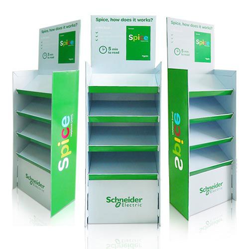 Point of Purchase (POP) Floor Display Stands