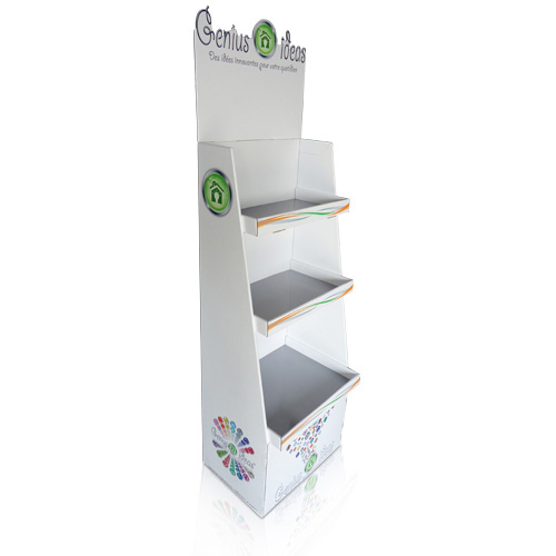 Retail Point of Purchase Cardboard Floor Display