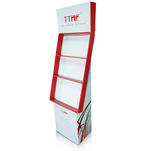 POS Cardboard Advertising Display Stands China Manufacturer