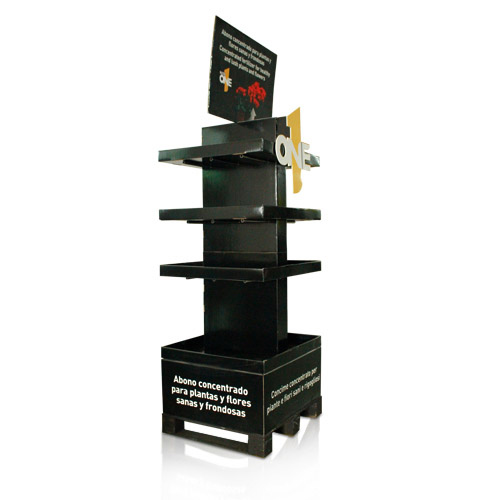 Cardboard and Corrugated Point of Purchase Ploor Displays