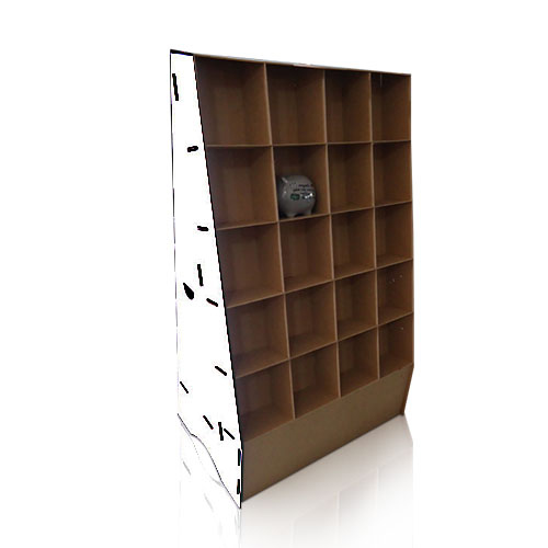 Free Standing POS Cardboard Floor Product Display Stands